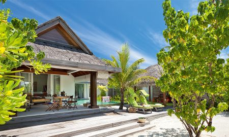 Beach House - Private Pool - Naladhu Private Island Maldives - Maldives