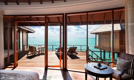 Sunset Over Water Suite - Anantara Dhigu Maldives Resort - Maldives