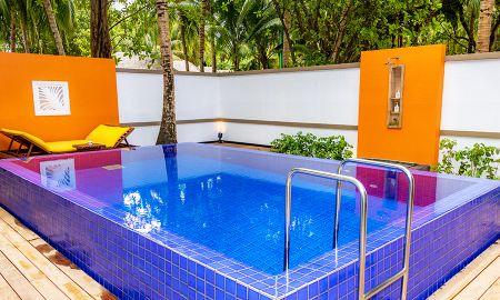 Vila Deluxe Frente à Praia Com Piscina - Angsana Velavaru - Maldivas