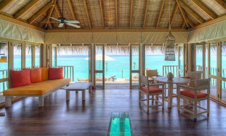 Vue de l'île de la résidence Crusoe - Gili Lankanfushi Maldives - Maldives