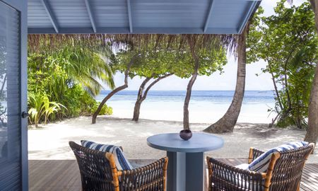 Vila Beach - Raffles Maldives Meradhoo Resort - Maldivas