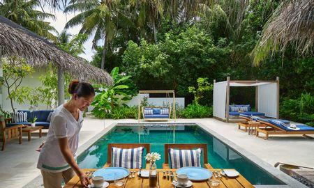 Residência de Praia - Raffles Maldives Meradhoo Resort - Maldivas