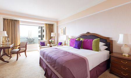 Dormitorio Deluxe con cama king - Con vista al Mar - Taj Lands End - Mumbai