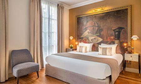 Quarto Clássico - Hotel Le Walt - Paris