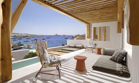 Люкс Vista с открытым небольшим бассейном - Kensho Psarou - Mykonos