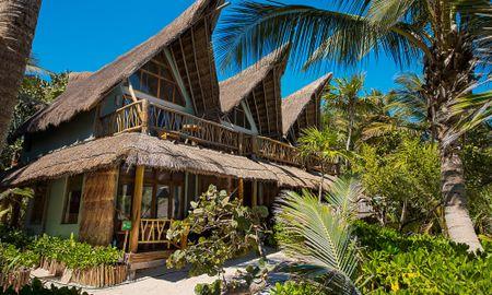 Suíte Júnior de Frente para o Mar - Nível da Praia - Ahau Tulum - Tulum
