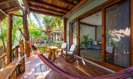 Suite Junior Vista Jardim - Nível da Praia - Ahau Tulum - Tulum