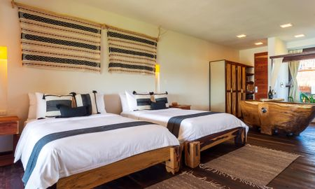Second Floor Two Full Beds Partial Ocean View - Kanan Tulum - Adults Only Beach Resort - Tulum