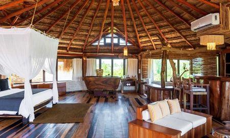 Rounded Signature King Suite Vista Jardín - Kanan Tulum - Adults Only Beach Resort - Tulum