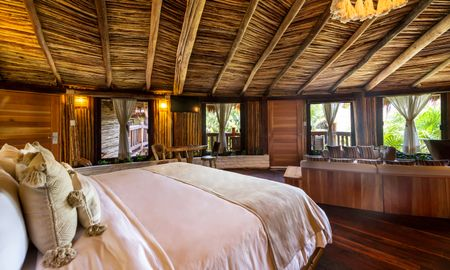 Rounded Tower King Suite Garden View - Kanan Tulum - Adults Only Beach Resort - Tulum