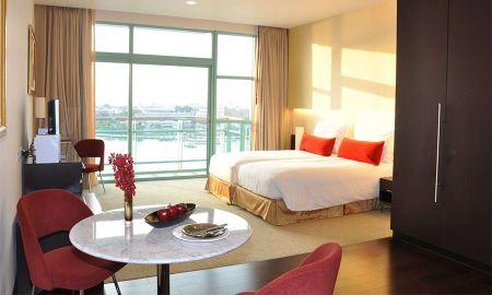 Habitación Club Vista a la Ciudad con Desayuno y Beneficios del Club - Chatrium Hotel Riverside Bangkok - Bangkok