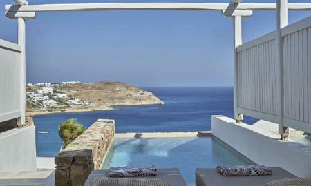 Люкс для новобрачных бассейн - Mykonos Bliss - Cozy Suites, Adults Only Hotel - Mykonos