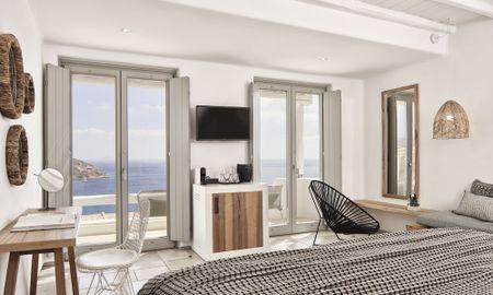 Люкс Премиум с джакузи - Mykonos Bliss - Cozy Suites, Adults Only Hotel - Mykonos