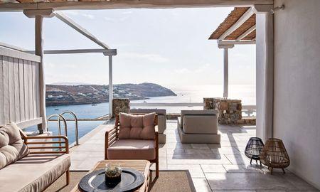 Ultimate Люкс с собственным бассейном - Mykonos Bliss - Cozy Suites, Adults Only Hotel - Mykonos