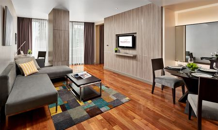 Apartment Familiar com Dois Dormitórios - Fraser Suites Sukhumvit - Bangkok - Bangkok
