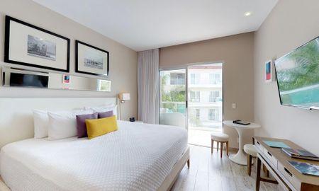 Chambre Deluxe - The Fives Beach Hotel & Residences - All Senses Inclusive - Playa Del Carmen