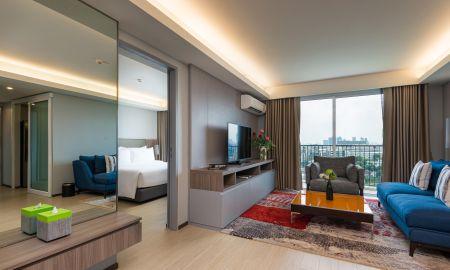 Apartamento Dos Habitaciones - Vista Jardin - Maitria Hotel Rama 9 Bangkok - A Chatrium Collection - Bangkok