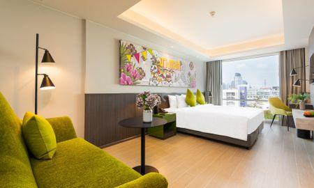 Habitación Deluxe Vista Ciudad - Maitria Hotel Rama 9 Bangkok - A Chatrium Collection - Bangkok