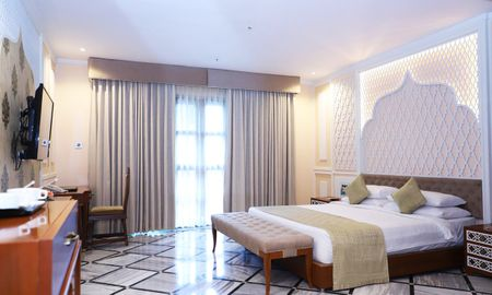 Luxury Room King Bed with Sitout - Pratap Mahal - IHCL SeleQtions - Rajasthan