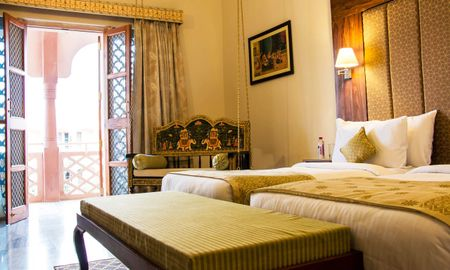Superior Room King Bed with Sitout - Pratap Mahal - IHCL SeleQtions - Rajasthan
