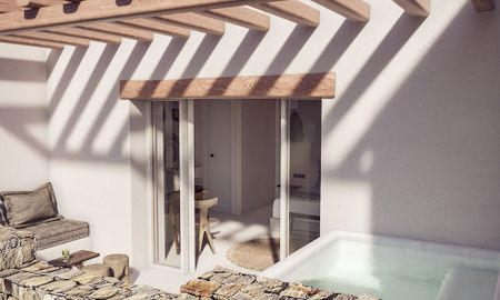 Junior Suite - Sea View & Outdoor Hot Tub - Habitat Mykonos - Mykonos