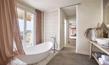 Executive Suite - Sea View & Infinity Private Pool - Amazon Mykonos Resort - Mykonos
