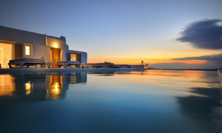 Elegant Double Suite - Sharing Pool - Amazon Mykonos Resort - Mykonos