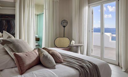 Sunset Deluxe Suite - Sea View - Amazon Mykonos Resort - Mykonos