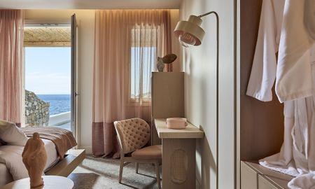 Superior Suite - Sea View & Infinity Private Pool - Amazon Mykonos Resort - Mykonos