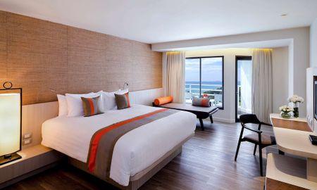 Chambre King Deluxe - Vue partielle Mer - Pullman Pattaya Hotel G - Pattaya