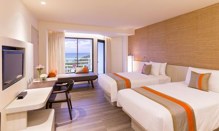 Quarto Deluxe Twin - Partial Sea View - Pullman Pattaya Hotel G - Pattaya