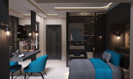 Deluxe Sea View Room with Jacuzzi - Gumus Peninsula Hotel - Antalya