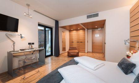 Junior Suite mit Seeblick - Lake Front Hotel Mirage - Gardasee
