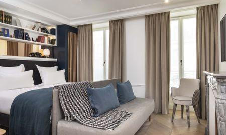 Chambre Prestige Double - HôtelLouvre Montana - Paris