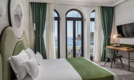 Улучшенный номер с кроватью размера «king-size» и видом на море - Heritage Hotel Porin Makarska - Макарска