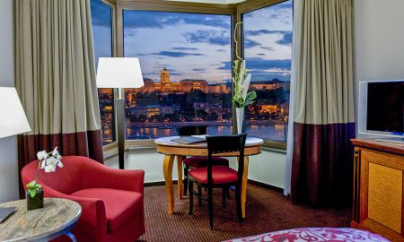 Quarto Luxury com Vista do rio Danúbio - Sofitel Budapest Chain Bridge - Budapeste