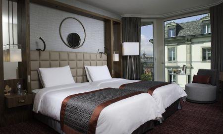 Chambre Twin Fairmont avec Vue partielle sur le Lac - Fairmont Grand Hotel Geneva - Genève