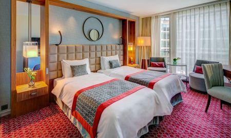 Chambre Twin Fairmont - Fairmont Grand Hotel Geneva - Genève
