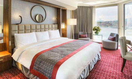 Chambre Twin Signature avec Vue Panoramique sur le Lac - Fairmont Grand Hotel Geneva - Genève
