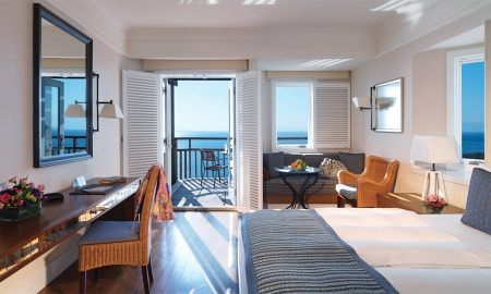 Grand Deluxe Room - Sea View - Kempinski Hotel Barbaros Bay - Bodrum