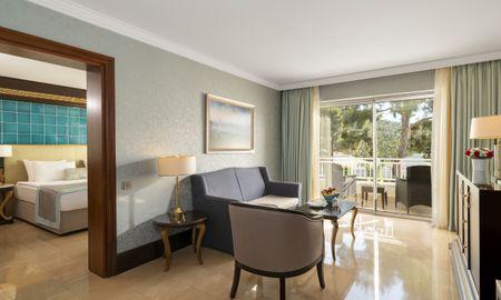 Suite Delujo - Vista Jardín - Rixos Premium Bodrum - Bodrum