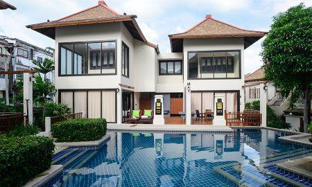 Deux Chambres Duplex Côté Piscine - The Briza Beach Resort - Koh Samui