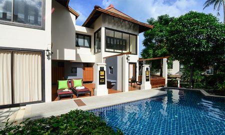 Villa Deux Chambres avec Bassin de Plongée - The Briza Beach Resort - Koh Samui