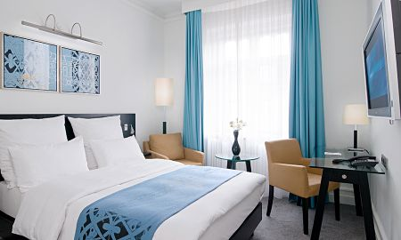 Chambre Standard Double - Usage Individuel - Scandic Palace Hotel - Copenhague