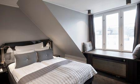 Quarto Deluxo Pequeno - Hotel Skt. Annæ - Copenhague