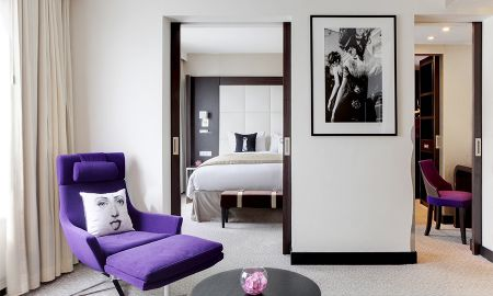 Junior Suite with Garden View - Sofitel Brussels Le Louise - Brussels