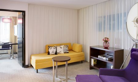 Prestige Suite with Garden View - Sofitel Brussels Le Louise - Brussels