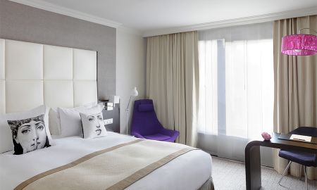 Superior Room with Garden View - Sofitel Brussels Le Louise - Brussels