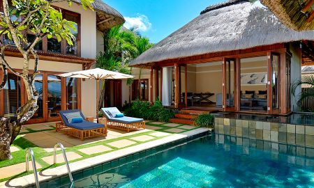 Three Bedroom Pool Villa - Garden View - Constance Belle Mare Plage - Mauritius Island