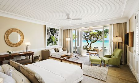 Deluxe Suite - Beachfront - Heritage Le Telfair Golf & Wellness Resort - Маврикий